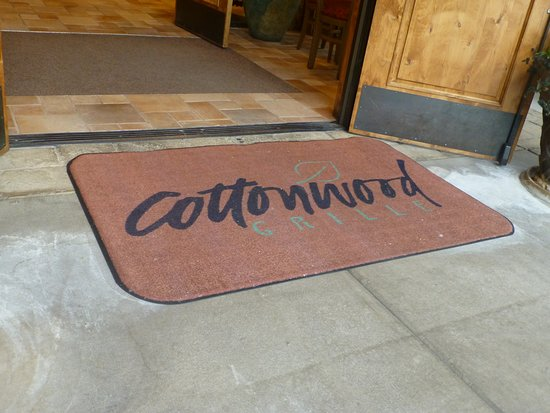 Welcome Mat At The Front Door Picture
