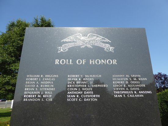 Prince William Area 911 Liberty Memorial: Wall of Honor - Wars