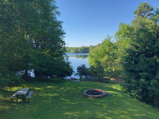 Long Pond, PA: Firepit