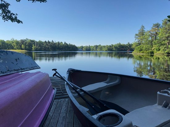 Long Pond, PA: Boats for use