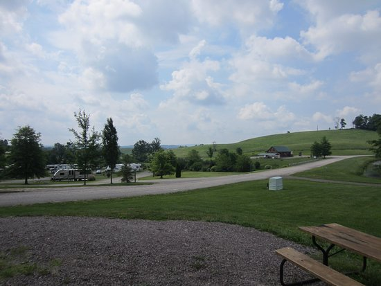Rockwood, Pennsylvanie : View from campsite