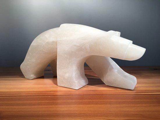 Carter-Ryan Gallery And Live Theatre: The Walking Bear Walks, Italian Alabaster, Jason Carter