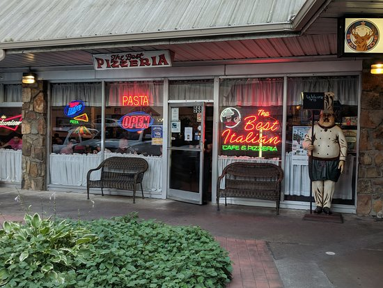 Best Italian Cafe Pizzeria Gatlinburg Tn Menu