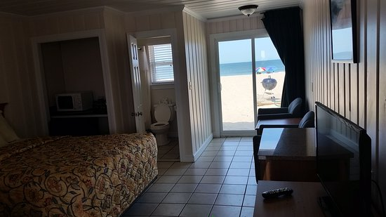 Dolphin Oceanfront Motel: Our oceanfront room