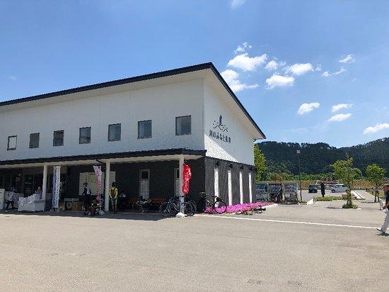 Nagai, Japonia: 蔵を模したモダンな建物