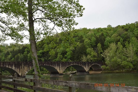 Cumberland Falls State Resort Park: Gatliff bridge