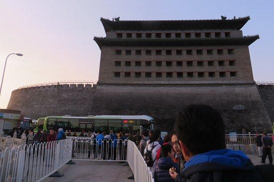The Great Wall at Badaling: 877 Bus to Badaling