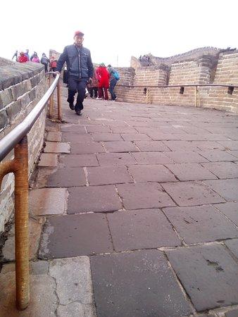 The Great Wall at Badaling: Very Steep