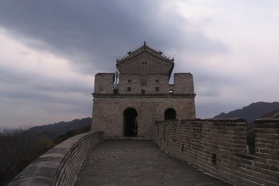 The Great Wall at Badaling: You can moments without people in your shoton the left portion