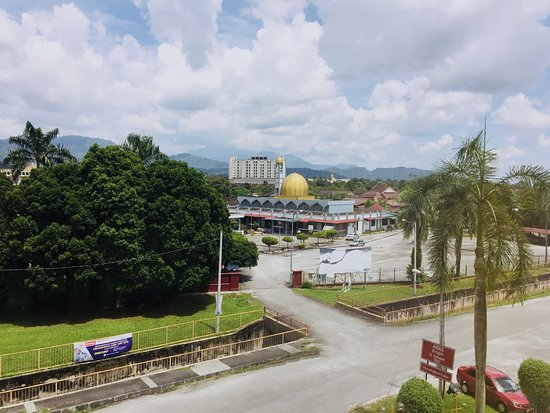 Legend Inn Taiping: View from room [ Facing mosque ]