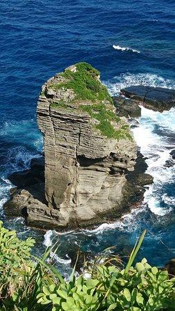 Yonaguji-jima, Japan: 立神岩