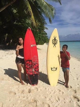 Колония, Федеративные Штаты Микронезии: My kids at Ant Atoll