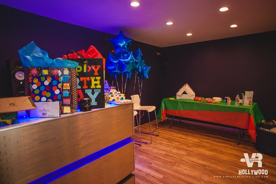 virtual reality games hollywood best birthday parties ideas fun