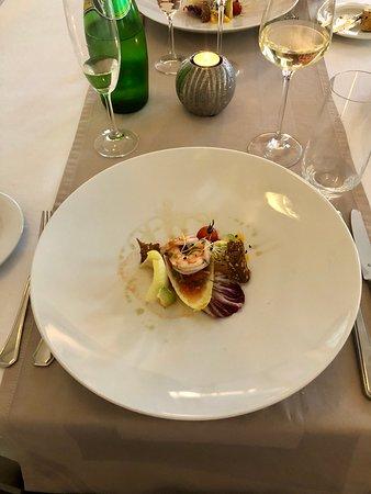 Ada restaurant : shrimp cevice