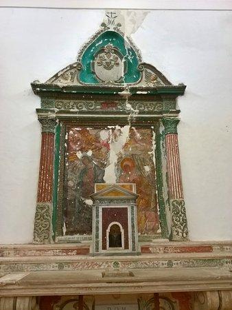 Chieuti, Italia: Quello che resta dell'altare