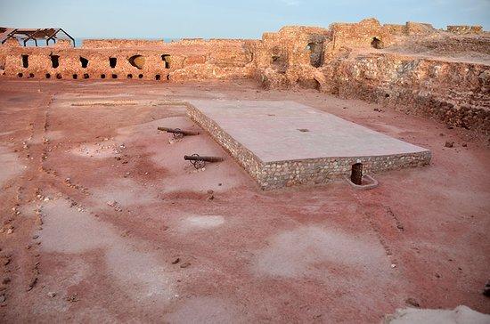 Bandar Abbas, Iran: Portuguese fort