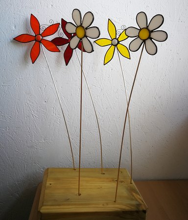 Stained Glass Workshops: Flowers