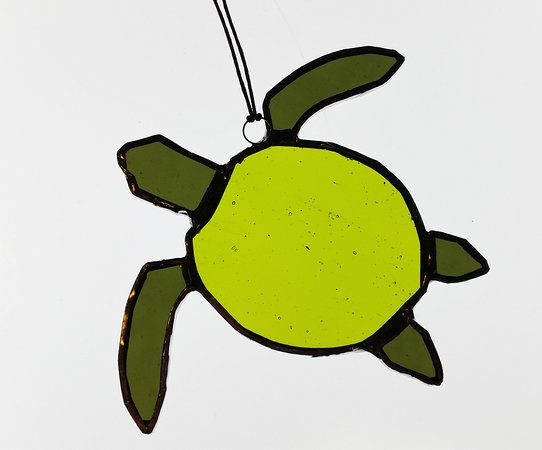 Stained Glass Workshops: Sea turtle