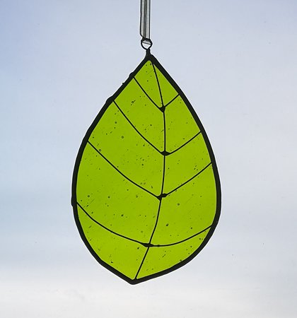 Stained Glass Workshops: Leaf suncatcher