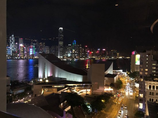 Sheraton Hong Kong Hotel & Towers: View from 16th foor bar