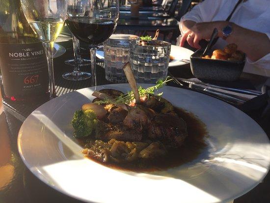 Blom Restaurant: Lammesymfoni smakte deilig.