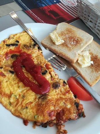 Zic Zac Diner: Omelette