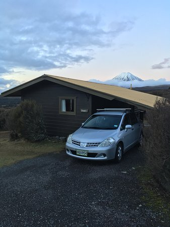 Skotel Alpine Resort: The outside of our cabin