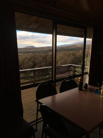 Skotel Alpine Resort: The view from our cabin