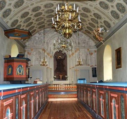 Векшо, Швеция: Uråsa kyrka i Uråsa
