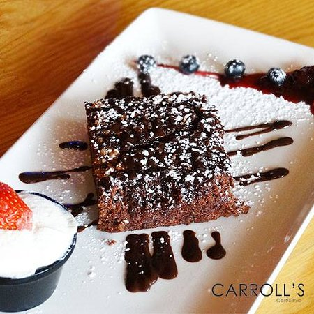 Carrolls Gastro Pub Lucan: Chocolate Brownie
