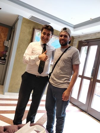 Seraglio Hotel and Suites: This man was so helpful during our stay at Seraglio.