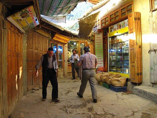 Masouleh Village: Market