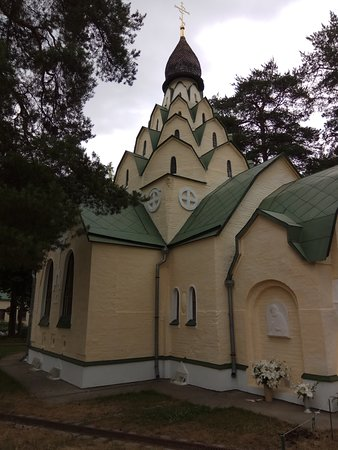 Bityagovo, Russia: ВИД НА ХРАМ