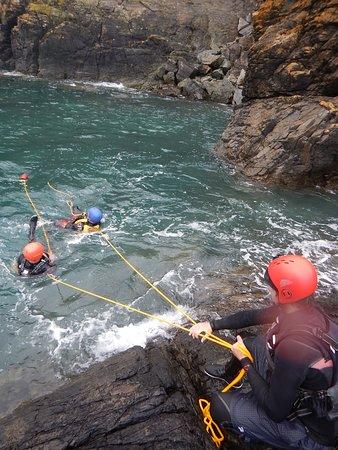 St Austell, UK: Water safety training