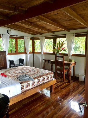 Copa de Arbol Beach and Rainforest Resort: Upstairs private bedroom