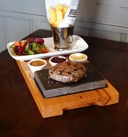 Tallaght, Ireland: Steak on a Stone