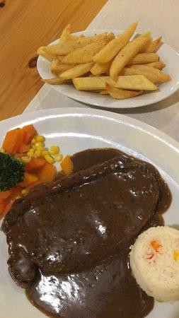 La View Fusion Restaurant : Steak