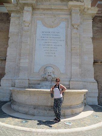 Fontana del Vanvitelli: een fontein zonder water....