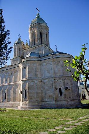 Manastirea Dealu: Achterzijde van de kerk.
