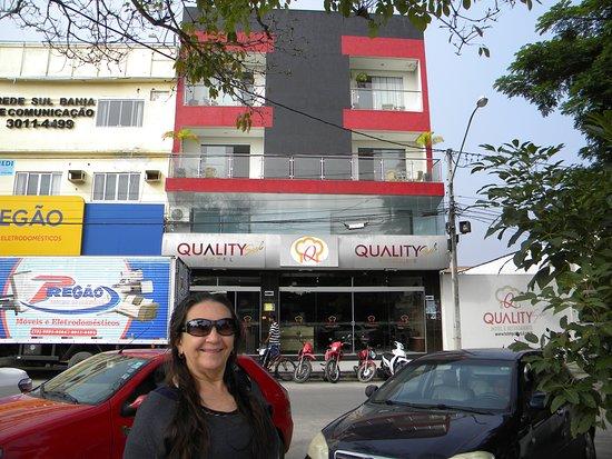 Hotel QualitySul: Boa localização