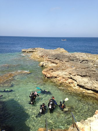 Dive on Malta: Magnificent site with something for everyone. Tremendous on shore facilities for divers