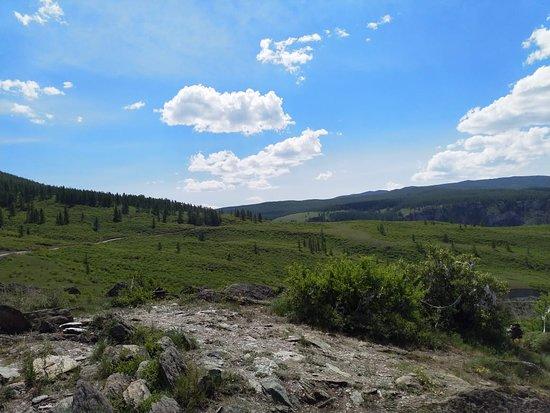 Ulagan, Rusia: площадка перед перевалом Кату-Ярык