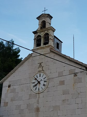 Krilo Jesenice, Croatie : The village church