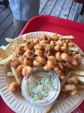 Bob's Seafood: My husband got shrimp