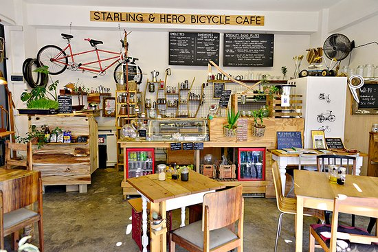 Our cafe is quirky, friendly and down-to-earth.