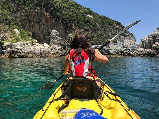 Ntamouchari, Greece: double kayak pic