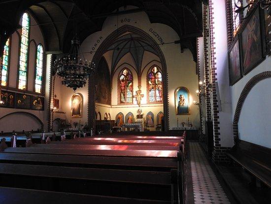 Church of St. George: Wnętrze kościoła Św. Jerzego w Sopocie