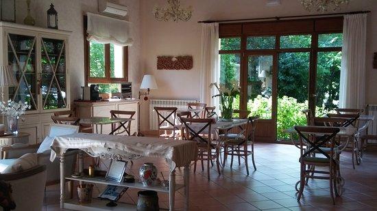Hotel rural Arpa de Hierba: Donde se sirve el desayuno