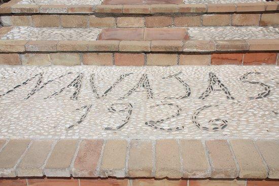 Casa de los Navajas: steps