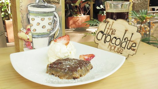 The Chocolate House: Brownie fitness con helado